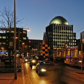 Neues Steintor und Anzeigerhochhaus in Hannover