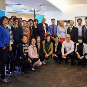 Chefärzte und Klinikdirektoren aus Shanghai bei magrathea
