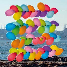 Seminarplan Magrathea Informatik 2019 Deckblattfoto - Bunte Luftballons